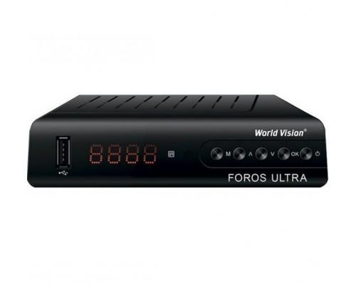 Цифровий ефірний ТВ приймач World Vision Foros Ultra