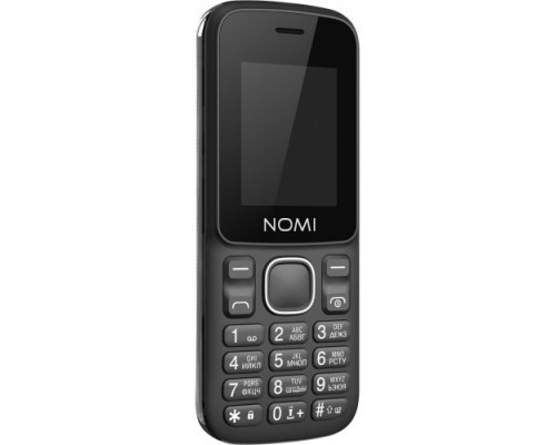 Мобiльний телефон Nomi i188s Black