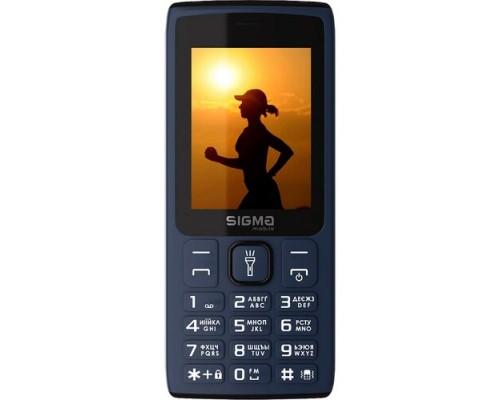 Мобильный телефон Sigma mobile X-style 34 NRG Blue-д